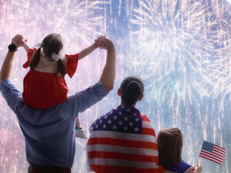 Granville Independence Day Fireworks