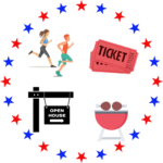 4th of July Events at Pierce Hall