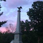 Statue in Rochester Park